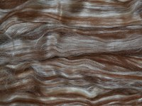 фото light brown alpaca-bleached tussah silk в10